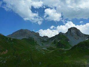 Гора Седая и скала Загедан